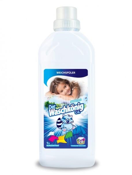 Кондиционер для белья детский Waschkonig Sensitive 1л