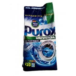 СТИРАЛЬНЫЙ ПОРОШОК PUROX UNIVERSAL 10 КГ (120СТИРОК)