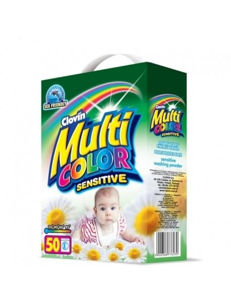 Стиральный порошок Multi Color автомат sensitive 5 кг