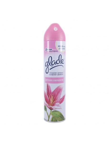 Аэрозольный освежитель воздуха Glade Цветочное совершенство 300 мл