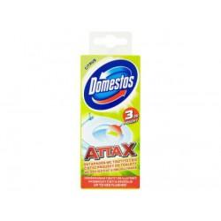 Стикер для очистки унитаза Domestos Лимонная Свежесть 3 х 10 г