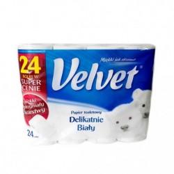 Туалетная бумага Velvet, 24 рулоны