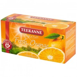 Чай Teekanne word of fruits fresh orange 20 пакетов