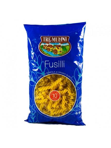 Tre Mulini Fusilli фузилли макароны 1 kg Italy