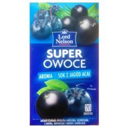 Чай Lord Nelson Super Owoce Aronia & Acai 20 пакетов