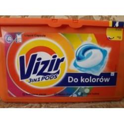Капсулы для стирки VIZIR 41шт.Визир