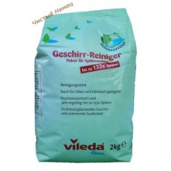 Vileda порошок для посудомоечных Geschirr-Reiniger (2 кг) Германия
