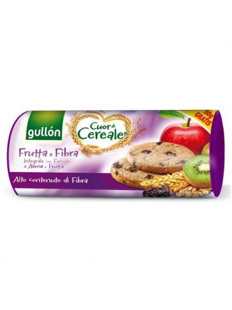 Печенье с фиброй GULLON Cuor di Cereale Frutta e Fibra 300 г