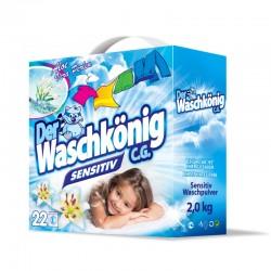 Стиральный порошок Waschkonig 2 кг sensitive Германия.