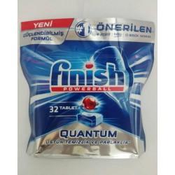 Таблетки для посудомоечных машин Finish Quantum ( Финиш Квантум) 32 шт