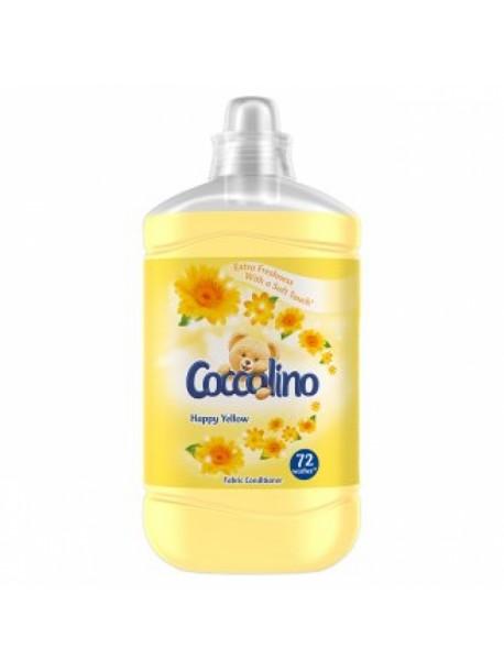 Ополаскиватель для белья Coccolino Happy Yellow, 1.8 л (72 стирки)