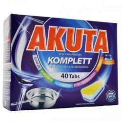 Таблетки для посудомоечных машин Akuta, 40 шт