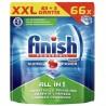 Таблетки для посудомоечных машин FINISH Powerball All in 1 Max 63+3шт