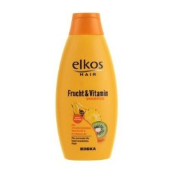 Шампунь для волос ELKOS VITAMIN & FRUCH для всех типов волос 500 мл Германия