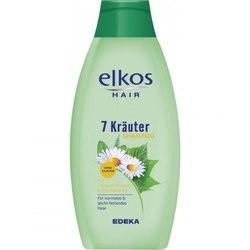 Шампунь ELKOS 7 трав & витамины для всех типов волос, 500 мл Германия