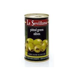 Оливки зеленые без косточки La Sevillana 370мл Испания