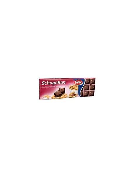 Шоколад Schogetten Dark&Peanuts 150g