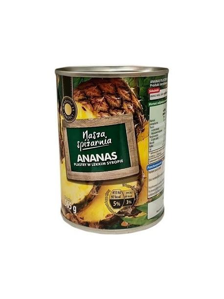 Nasza Spiżarnia - Консервированный ананас 565 г