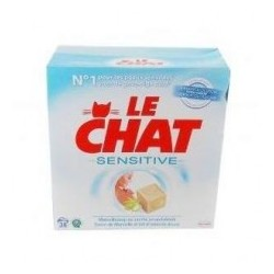 """Гипоалергенный стиральный порошок Le Chat Sensative -2.47 кг. """"Италия"""""""