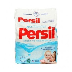 Стиральный порошок в гранулах для детских вещей Persil Sensitive Megaperls, 1,48 kg