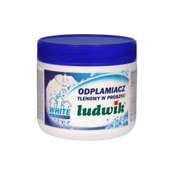 Ludwik кислородный порошковый пятновыводитель для белых тканей 500гр
