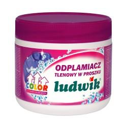 Ludwik кислородный порошковый пятновыводитель для цветных тканей 500гр Польша.