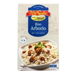 """Рис для ризотто """"Arborio"""" Delizie Del Sole 1 кг"""