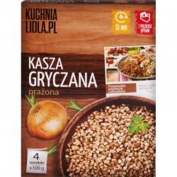 Крупа гречневая Kuchnia Lidla.Pl 4х100 г Польша