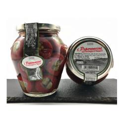 Перец фаршированный с каперсами Pepperoncini сon Ricotta e Cappero, 280 г