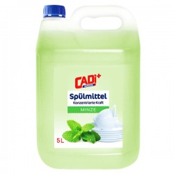 Cadi средство для мытья посуды 5л Ментол