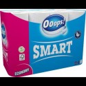 Ooops! туалетная бумага 2-хслойная Smart 24шт (125 отрывов)