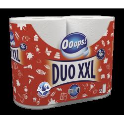 Ooops! полотенца бумажные 2-хслойные Duo XXL 2шт (110 отрывов)