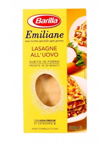 Barilla Emiliane Le Sottili Lasagne all Uovo 0. 5 кг