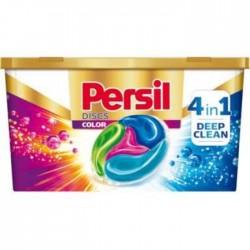 Гель-капсулы для стирки Persil Discs Color 4 в 1 для цветного белья, 22 шт