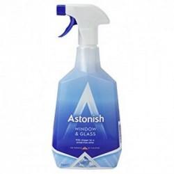 Средство для мытья окон и стекла без разводов Astonish, 750 мл