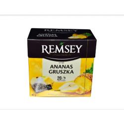 Чай фруктовый ананас и груша Remsey 20 пакетиков 40g (Польша)