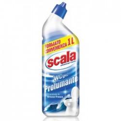 Scala WC гель для очистки туалета с нейтрализатором запахов и ароматом свежего бриза 1л