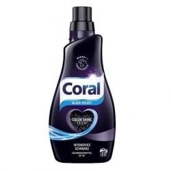Гель для стирки Coral Black Velvet для черного белья 22 стирок (1,1л)
