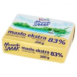 Сливочное масло Mlekpol Mazurski Smak Masło ekstra 83% 200g (Польша)