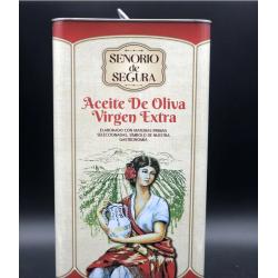 ОЛИВКОВОЕ МАСЛО SENORIO DE SEGURA ACEITE DE OLIVA VIRGEN EXTRA 5 Л