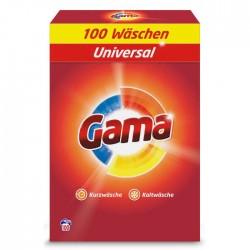Стиральный порошок Gama 3 в 1, 6.5 кг (100 стирок)