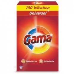 Порошок для стирки белья Gama 3в1 Универсальный, 8.45 кг (130 стирок)