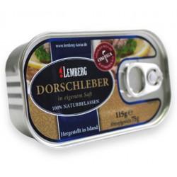 Печень трески Lemberg 115 г