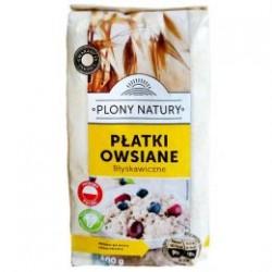 Хлопья овсяные PLONY NATURY, 500g (Польша)