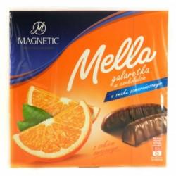 Шоколадные конфеты Magnetic Mella апельсин,вишня 190г Польша