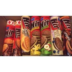 Печенье сэндвичи Hit в ассортименте, 220 г (Польша)