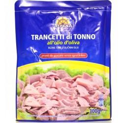 Тунец в оливковом масле Athena Trancetti di Tonno allolio doliva, 300гр (Италия)