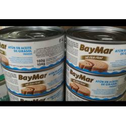 """Тунец """"Baymar"""" Atun En Aceite De Girasol (160 Г)"""