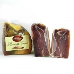 """Прошутто """"Salumeo"""" Prosciutto Crudo Италия за 1 кг, вес 1~1,4 кг."""