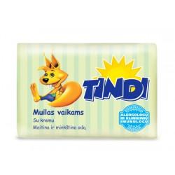 Детское мыло Tindi c кремом 90г